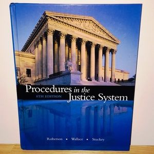 Criminal Justice 7th Edition Textbook